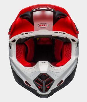 Bell Moto-9 Mips Prophecy Röd/Svart/Vit Crosshjälm