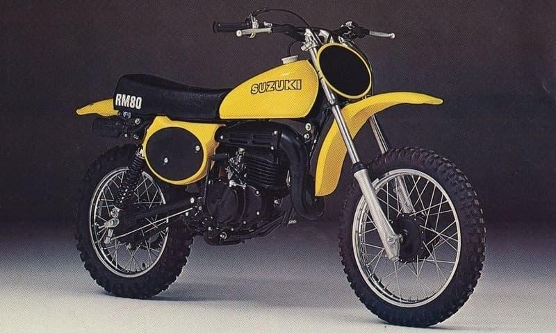 Suzuki RM80 - aka Gula Monstret